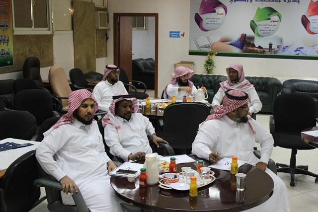رئيس الجودة بتحفيظ الرياض مركز الدائري الغربي يستعد لربيز بورش عمل (3)