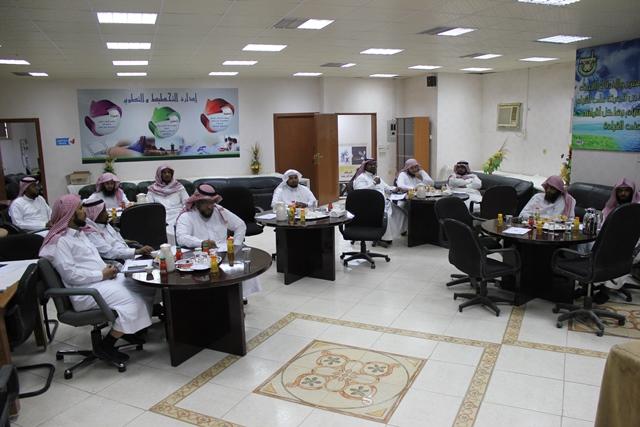 رئيس الجودة بتحفيظ الرياض مركز الدائري الغربي يستعد لربيز بورش عمل (4)