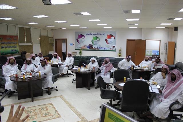 رئيس الجودة بتحفيظ الرياض مركز الدائري الغربي يستعد لربيز بورش عمل (5)