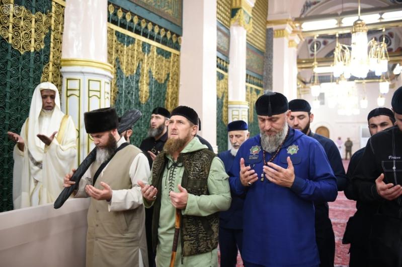 رئيس الشيشان في المدينة 2