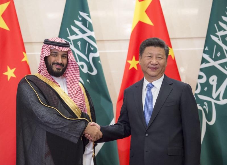 رئيس الصين يستقبل ولي ولي العهد 4