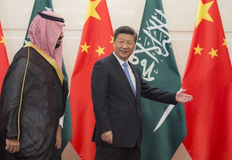 رئيس الصين يستقبل ولي ولي العهد 5