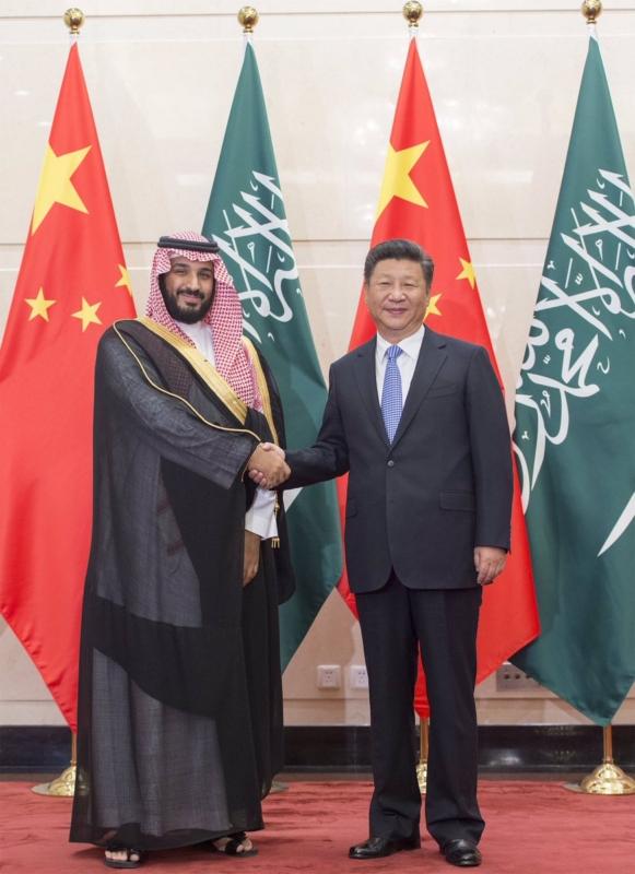 رئيس الصين يستقبل ولي ولي العهد 6