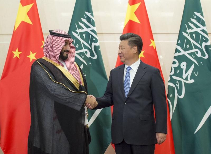 رئيس الصين يستقبل ولي ولي العهد 7