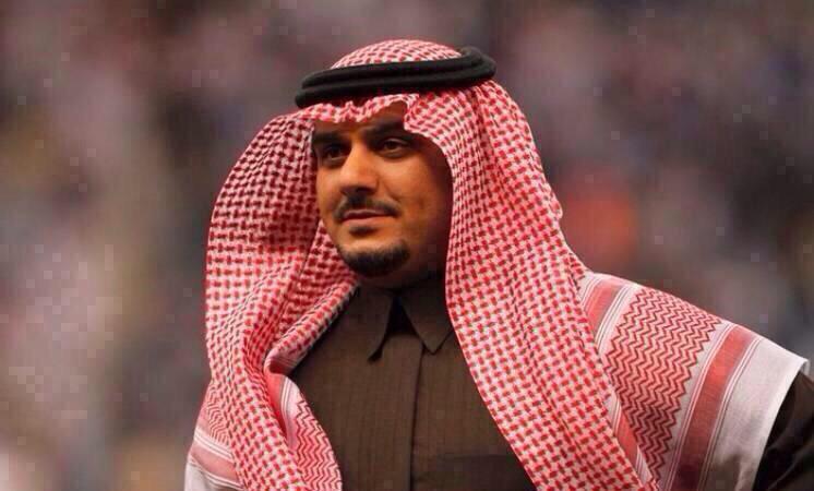 رئيس الهلال  الامير نواف بن سعد