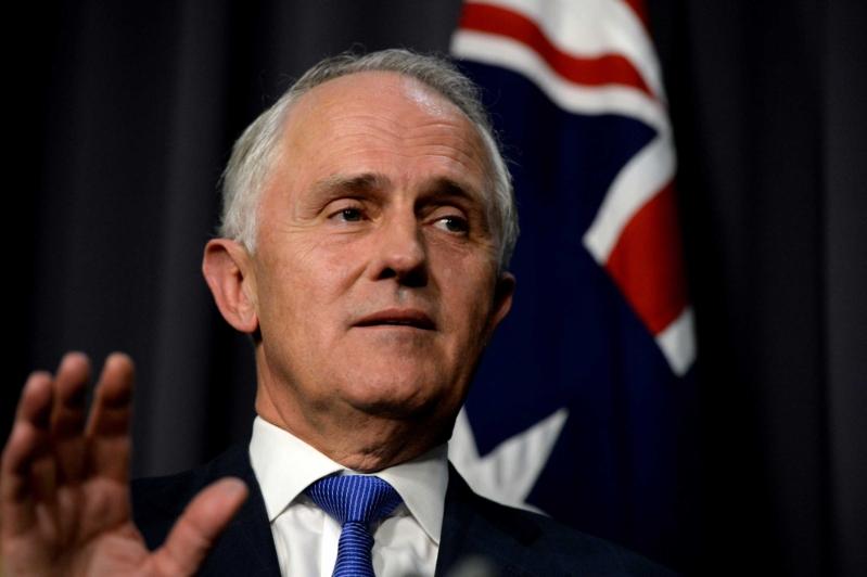 رئيس الوزراء الأسترالي ، مالكولم تيرنبول