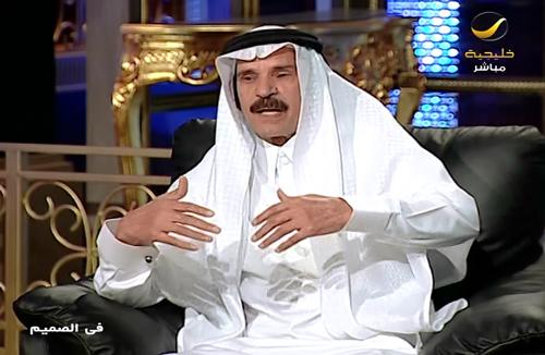 رئيس تحرير صحيفة الجزيرة خالد المالك