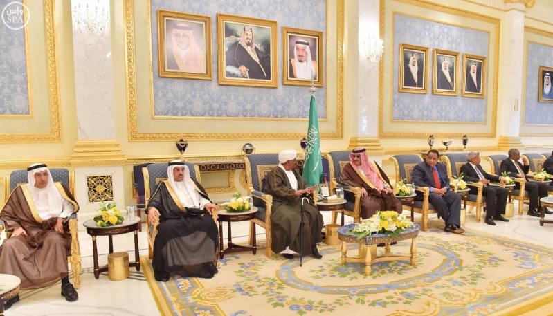 رئيس جمهورية السودان يصل إلى الرياض8
