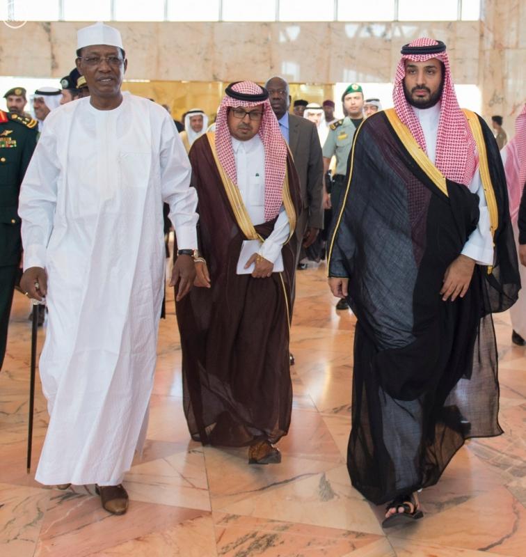 رئيس جمهورية تشاد يغادر الرياض