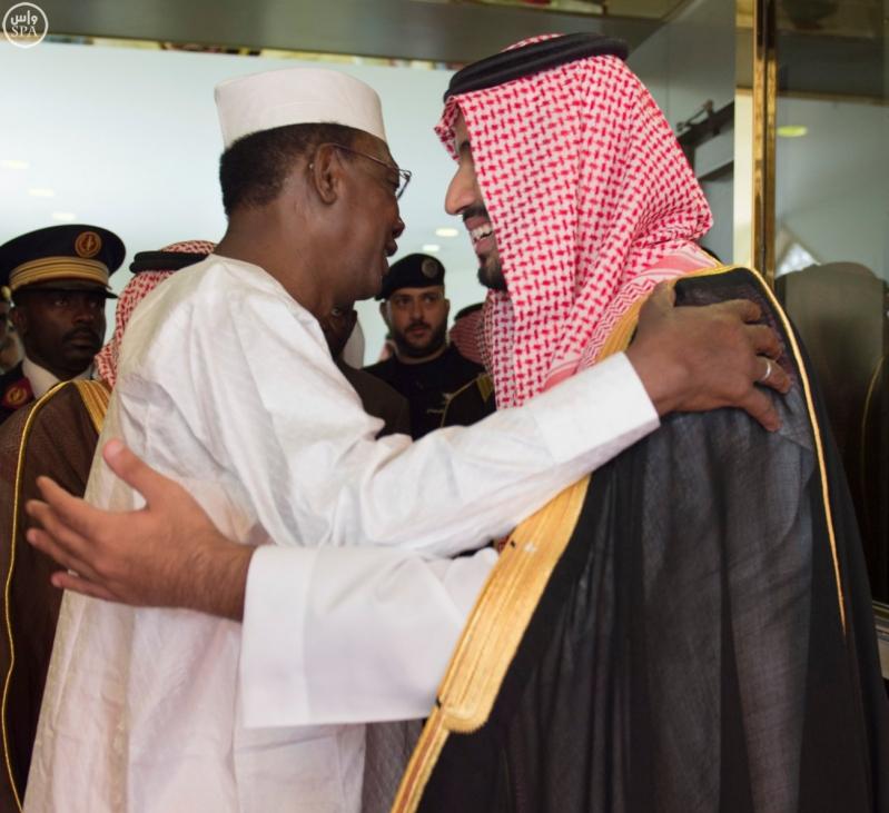 رئيس جمهورية تشاد يغادر الرياض1