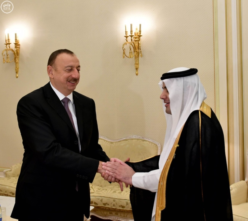 رئيس دولة اذربيجان يستقبل وزير الاعلام