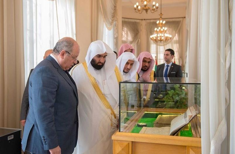 بالصور.. رئيس ديوان المظالم يؤكد أهمية تطوير العلاقات القضائية مع مجلس الدولة المصري