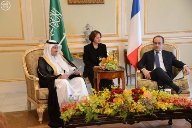رئيس-فرنسا-يستقبل-مدير-الخطوط-السعودية