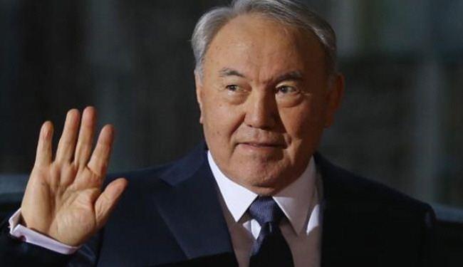 الرئيس الكازاخستاني نور سلطان نزارباييف