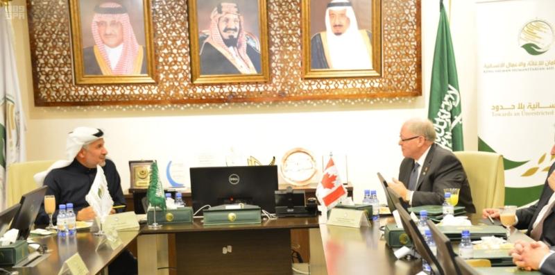 رئيس مجلس الشيوخ الكندي يطلع على 172 مشروعا لمركز الملك سلمان للإغاثة 5