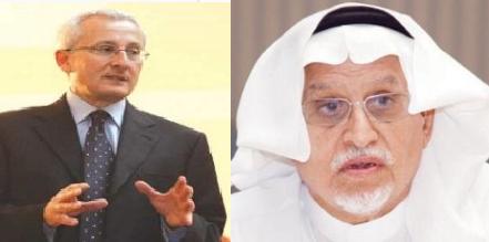 رئيس مجلس الغرف السعودية عبدالرحمن بن عبدالله الزامل يستقبل السفير الإيطالي بالسعودية ماريو بوفو
