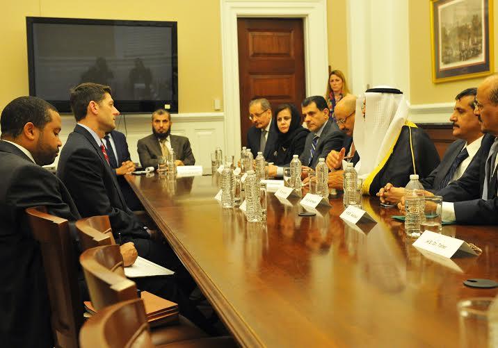 رئيس مجلس النواب الأمريكي ينوه بجهود المملكة (1)