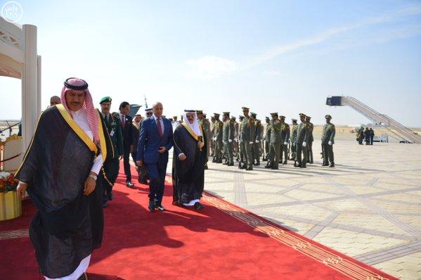 رئيس مجلس النواب الليبي يصل إلى #الرياض