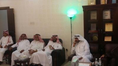 رئيس مركز حداد بني مالك الأستاذ فيحان البقمي (1)
