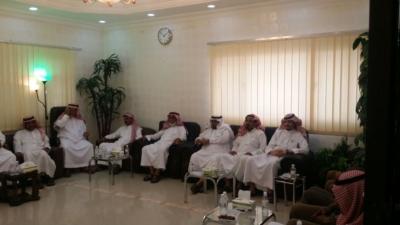 رئيس مركز حداد بني مالك الأستاذ فيحان البقمي (29994894) 