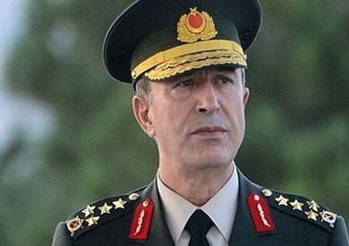 رئيس هيئة الأركان التركي الجنرال خلوصي آكار الموالي
