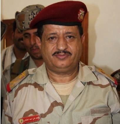 رئيس هيئة الأركان العامة اليمني، اللواء الركن محمد علي المقدشي