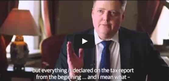 رئيس وزراء أيسلندا ينسحب من برنامج تلفزيوني بسبب #وثائق_بنما