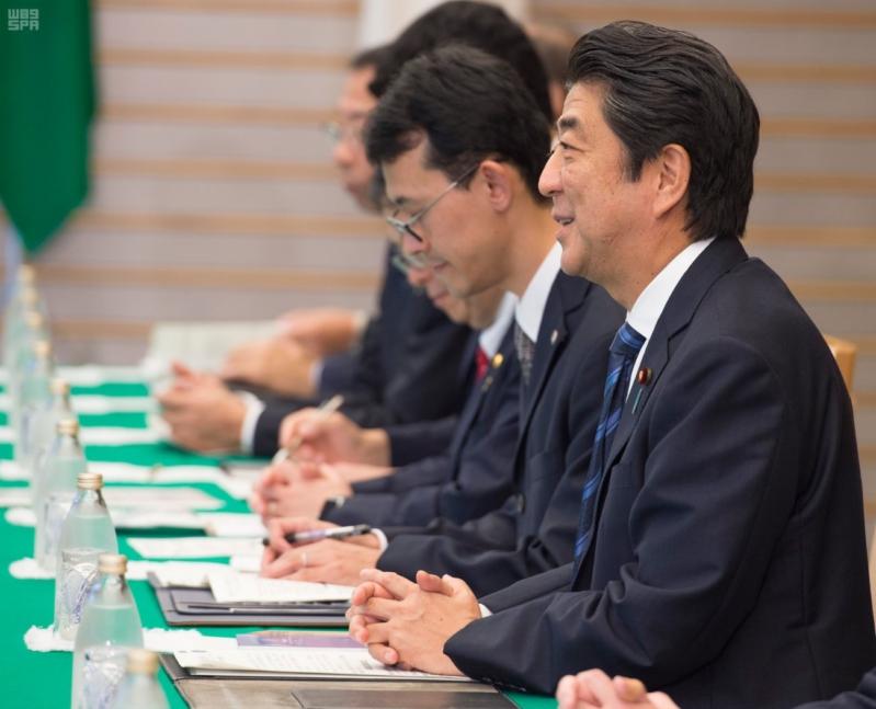 رئيس وزراء اليابان يستقبل ولي ولي العهد10