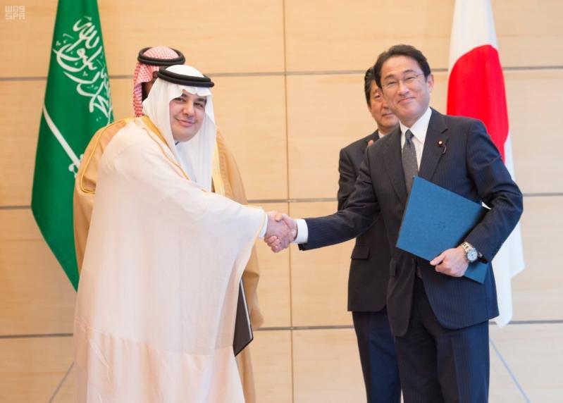 رئيس وزراء اليابان يستقبل ولي ولي العهد14