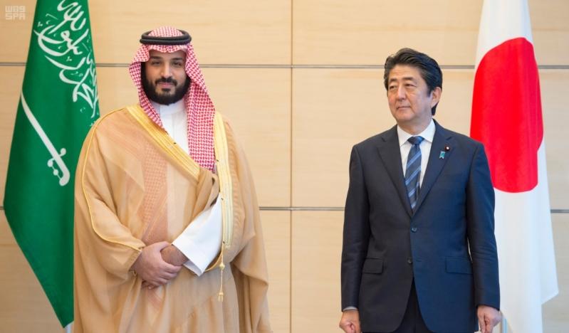 رئيس وزراء اليابان يستقبل ولي ولي العهد17