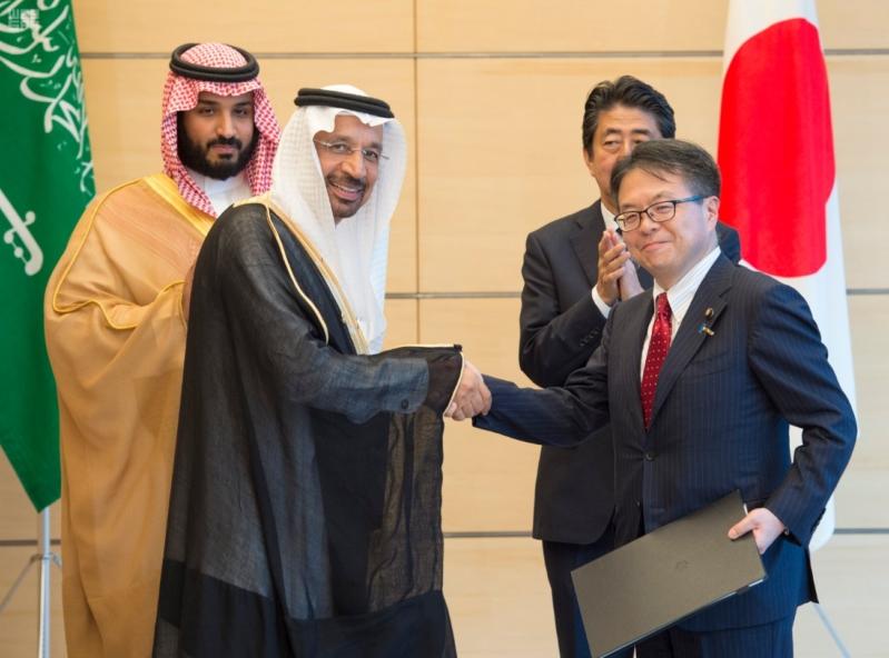 رئيس وزراء اليابان يستقبل ولي ولي العهد18