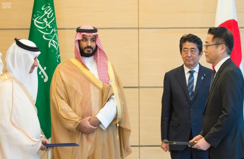 رئيس وزراء اليابان يستقبل ولي ولي العهد20