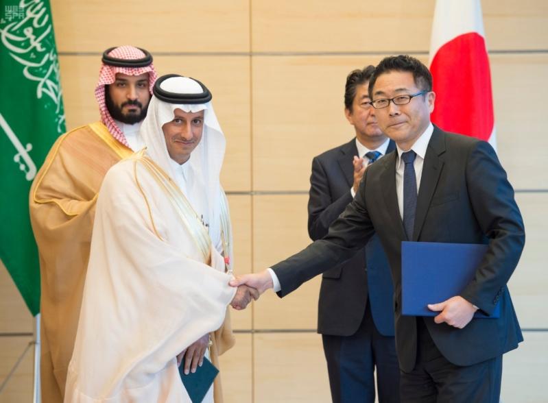 رئيس وزراء اليابان يستقبل ولي ولي العهد21