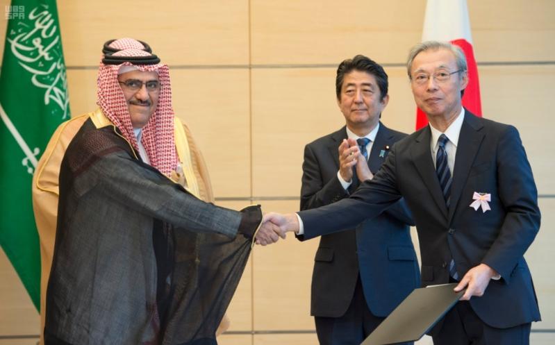 رئيس وزراء اليابان يستقبل ولي ولي العهد22