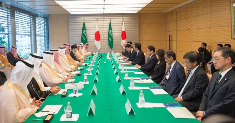 رئيس وزراء اليابان يستقبل ولي ولي العهد24