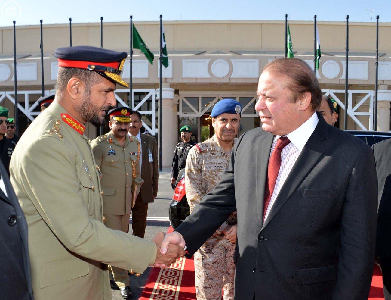 رئيس وزراء باكستان يغادر الرياض