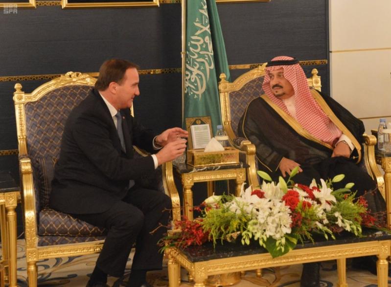 رئيس وزراء مملكة السويد يصل الرياض 3