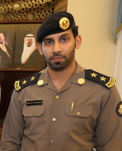 مدير شعبة الشؤون الإعلامية بمديرية شرطة منطقة مكة المكرمة الملازم أول رائد بن محمد الصحفي