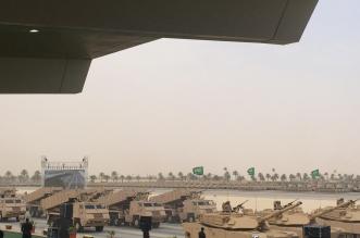 شاهد .. لقطات لدبابات وراجمات صواريخ وزوارق شاركت في #رعد_الشمال - المواطن