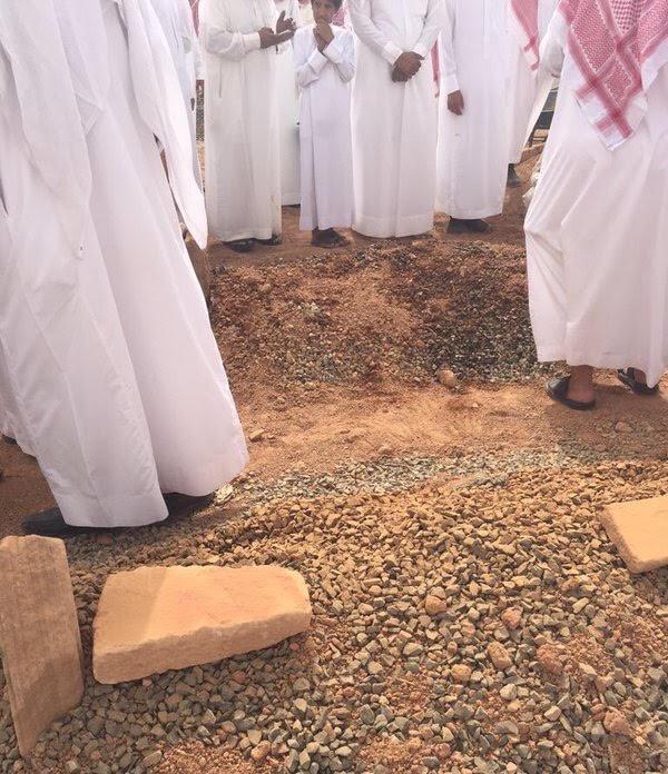راكان الثنيان- جنازة1