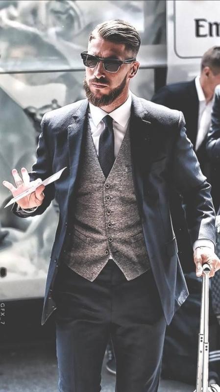 بالصور راموس الأكثر أناقة بين لاعبي الملكي صحيفة