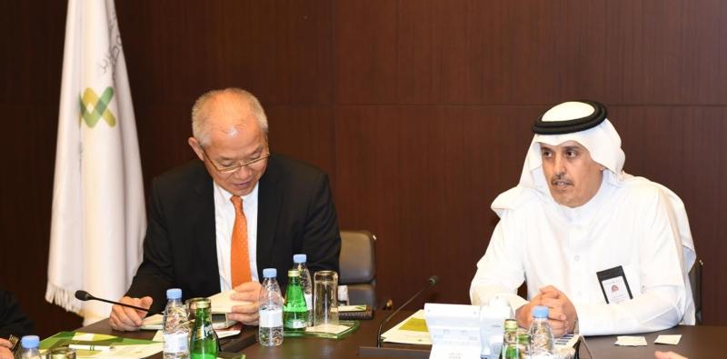 رجال أعمال يابانيين يشيدون بالتجربة السعودية في مجال الحوار والتفاعل الحضاري1