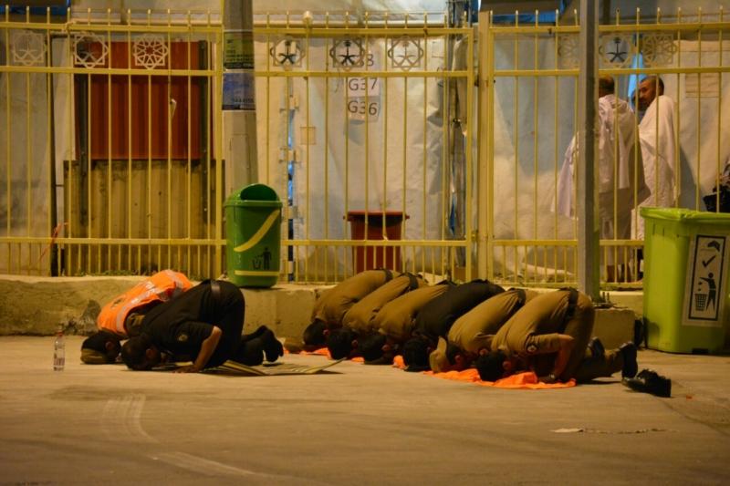 رجال الأمن فجر يوم التروية (1) 