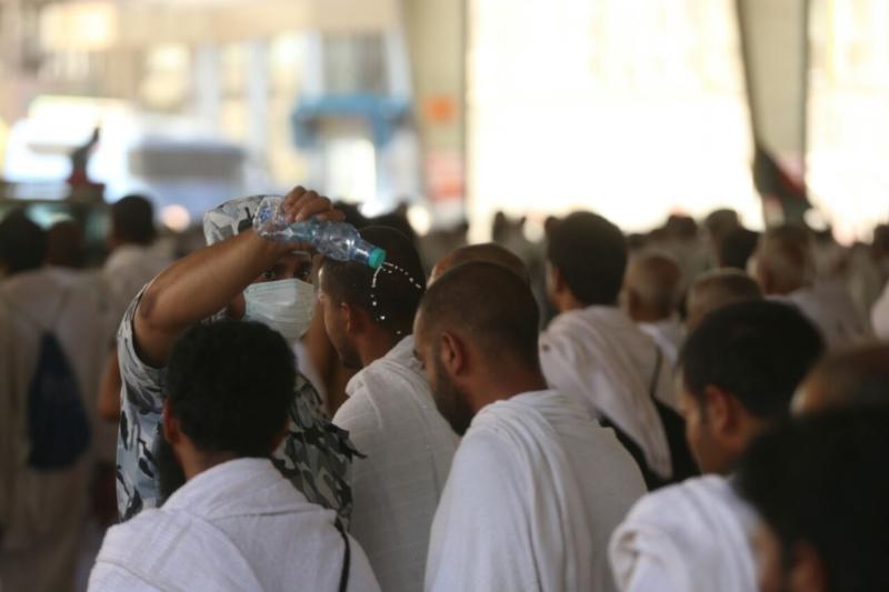 رجال الأمن في خدمة ضيوف الرحمن21