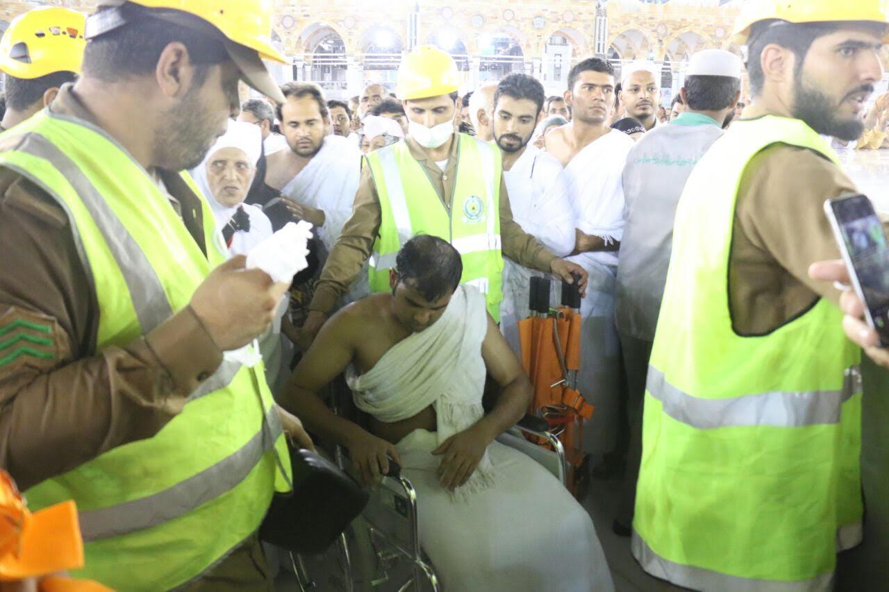 رجال امن مكة خدمة المعتمرين (3)