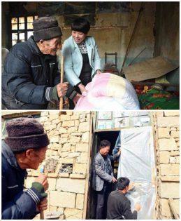 رجل يعتني بزوجته المريضة (2)