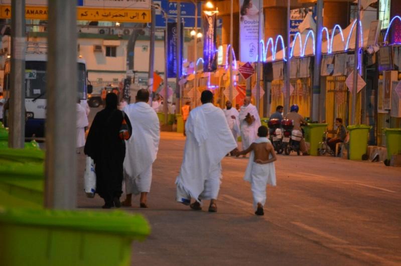 رحلة ضيوف الرحمن من مكة إلى مشعر منى فجر اليوم (313412361) 