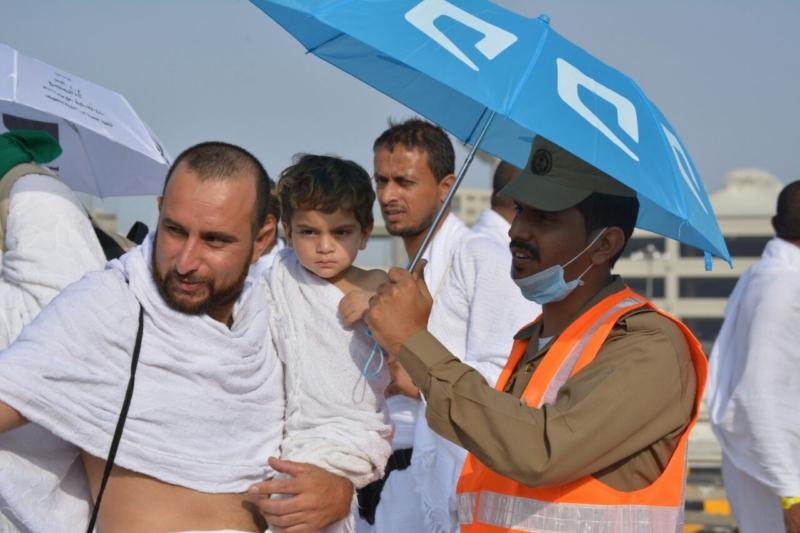 رحلة ضيوف الرحمن من مكة إلى مشعر منى فجر اليوم (313412374) 