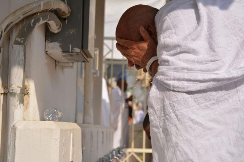 رحلة ضيوف الرحمن من مكة إلى مشعر منى فجر اليوم (313412384) 