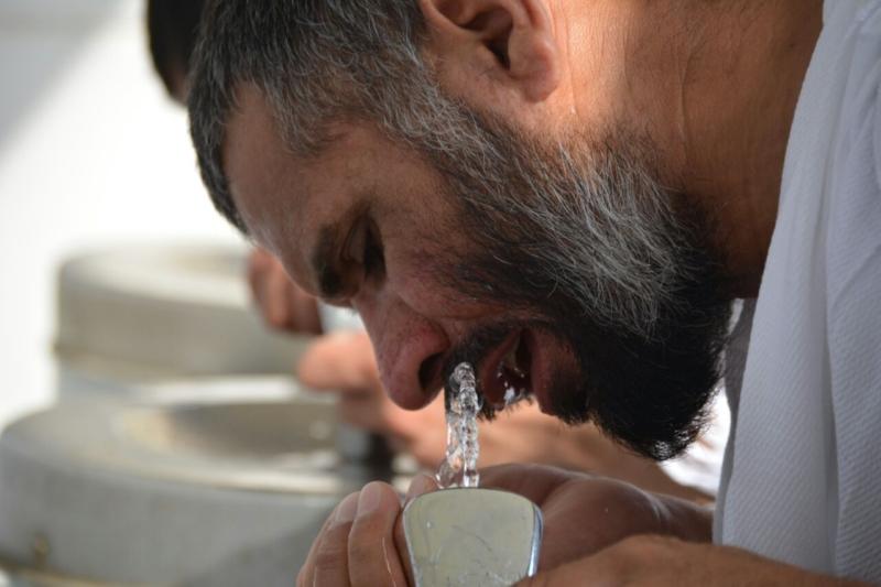 رحلة ضيوف الرحمن من مكة إلى مشعر منى فجر اليوم (313412385) 